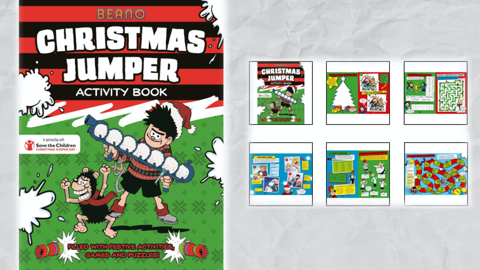 Buy the Beano Christmas Jumper Book