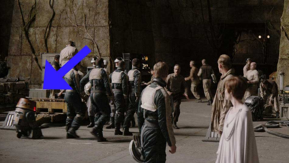 Chopper's cameo in Rogue One