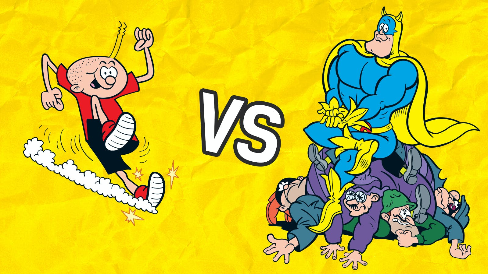 Head2Head - Whizz versus Bananaman