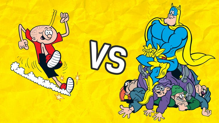 Head2Head - Whizz versus Bananaman