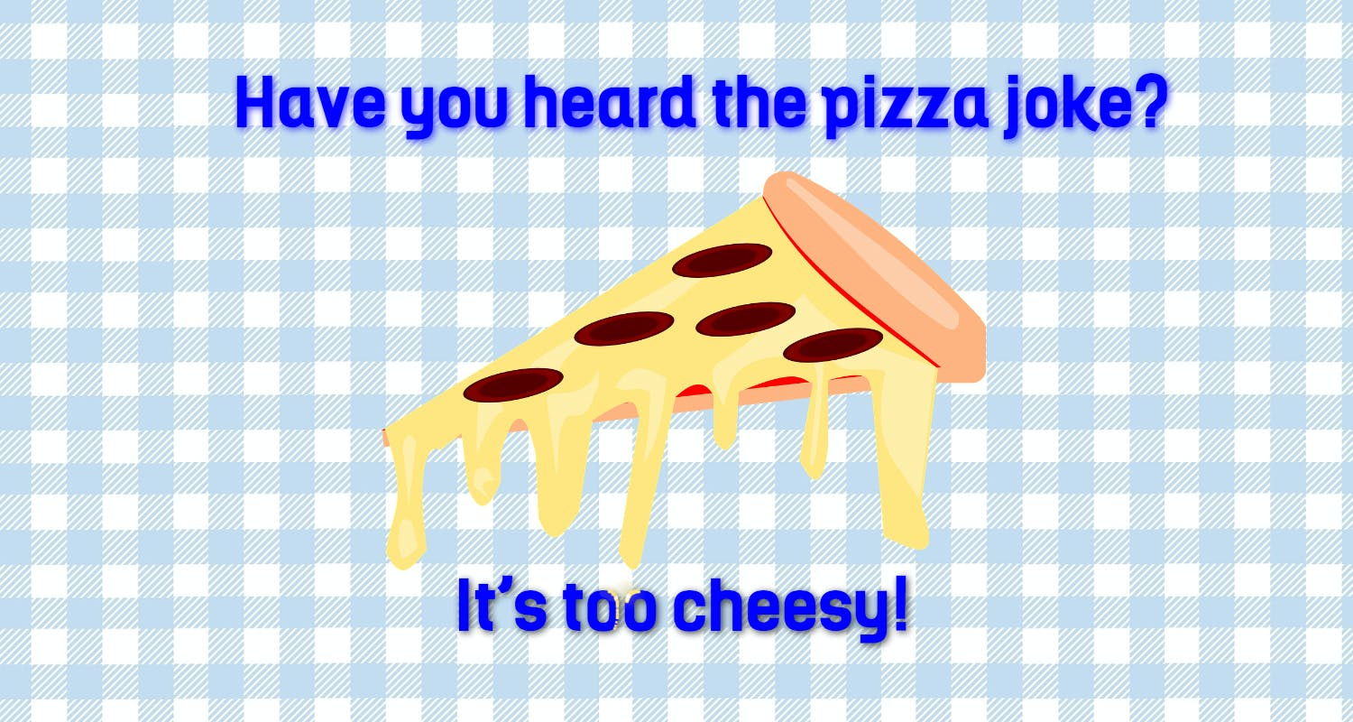 This is a cheesy slice of pizza