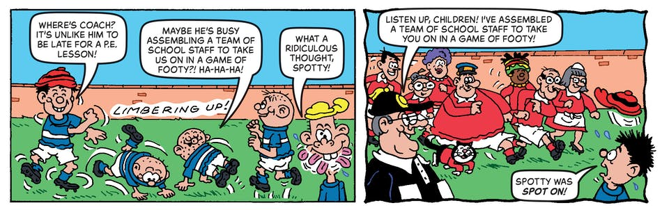Inside Beano no. 4044 - The Bash Street Kids