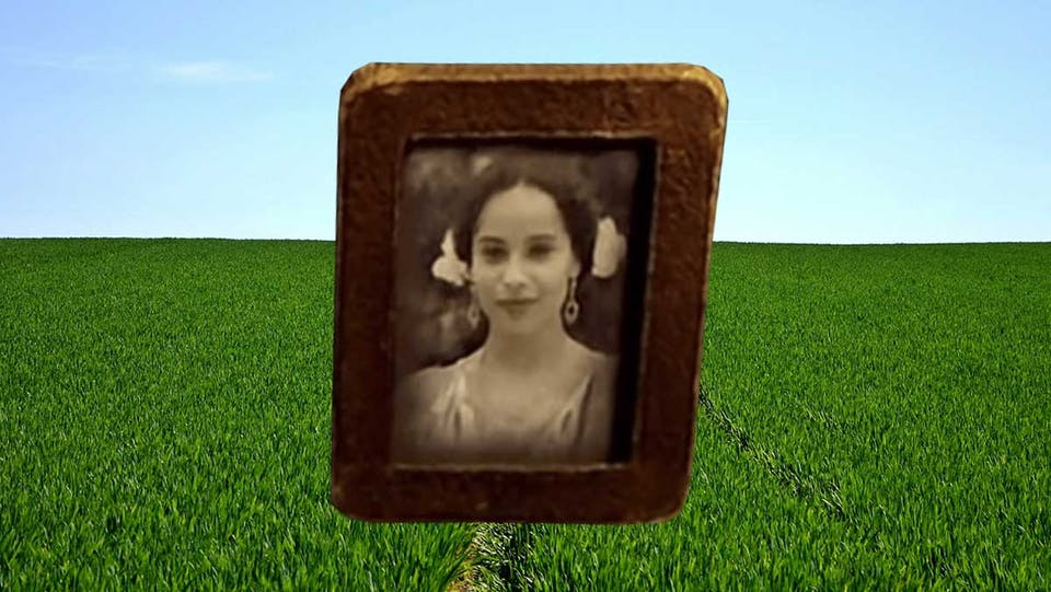 Leta Lestrange, as seen in a small framed photo in the first film