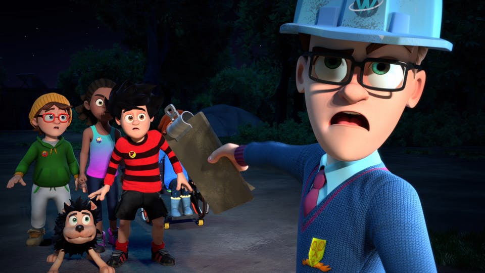 Dennis and Walter in Dennis & Gnasher Unleashed!
