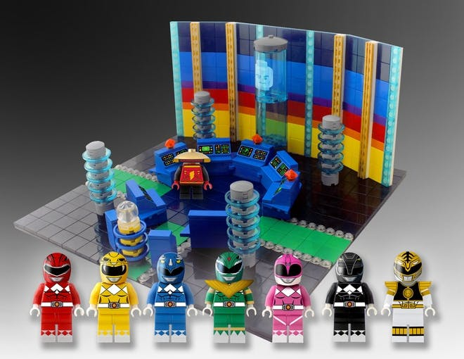 Power Rangers Lego