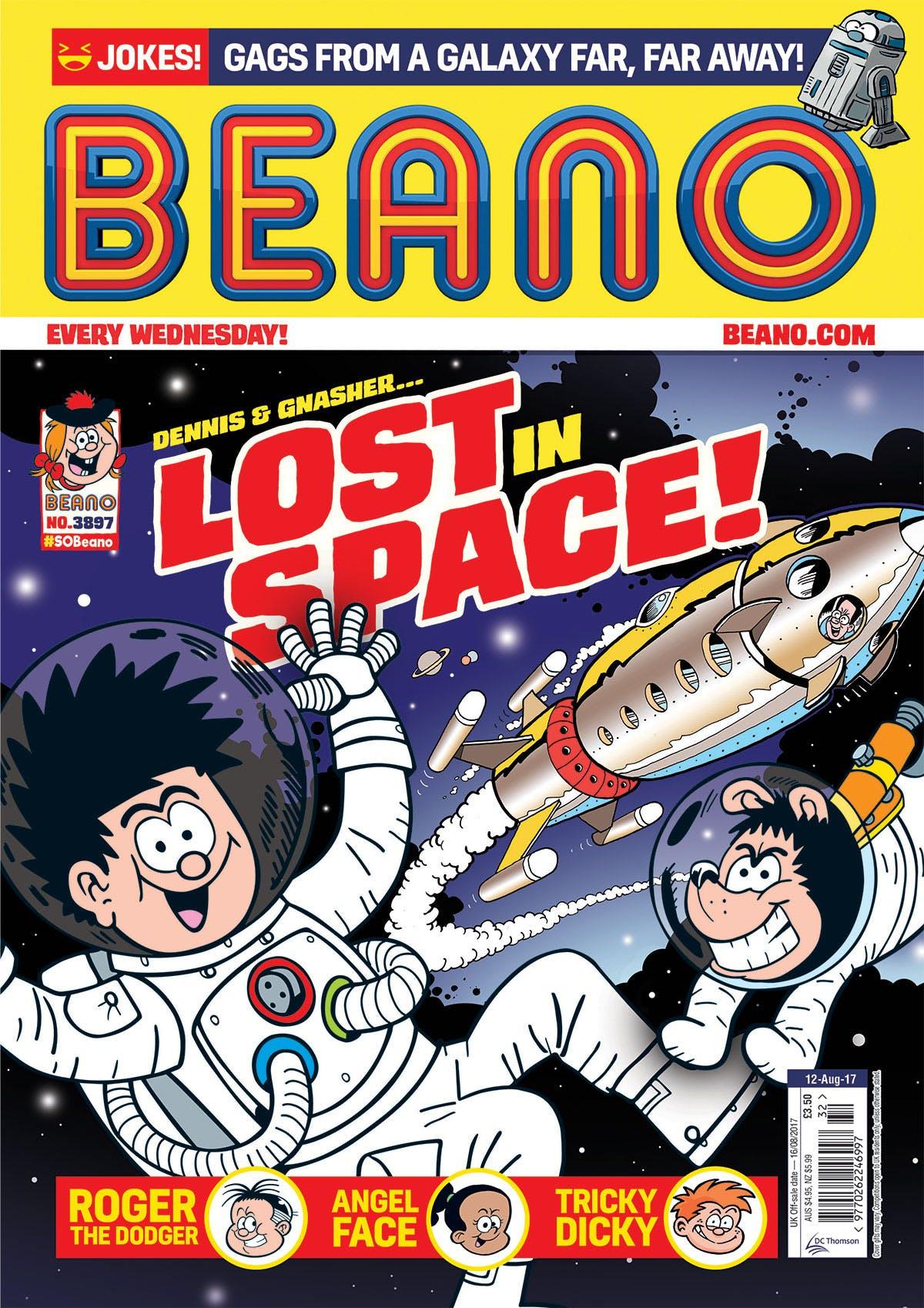 Beano No. 3897 - 12th August 2017