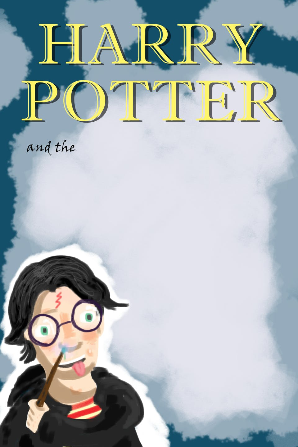 draw your own harry potter book cover drawing challenges harry