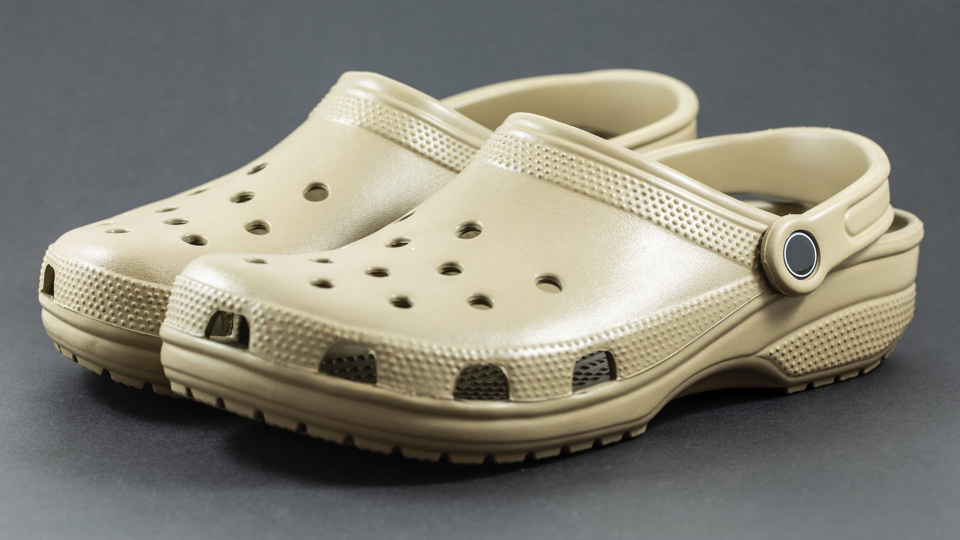 A pairo of Crocs