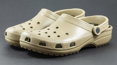 A pairo of Crocs