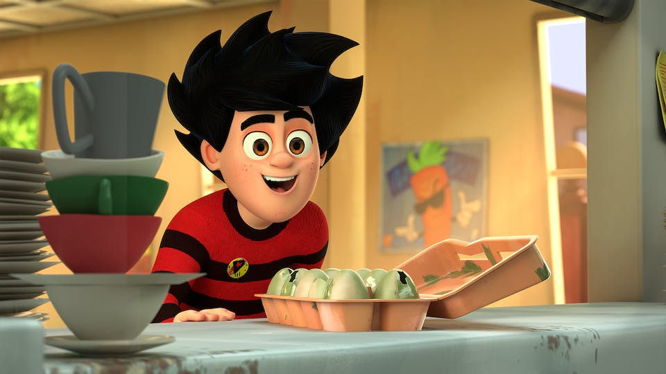 Dennis & Gnasher Unleashed! Series 2 - Episode 19: Pranks For the Memories
