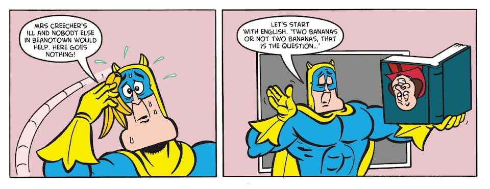 Inside Beano no. 3968 - Bananaman
