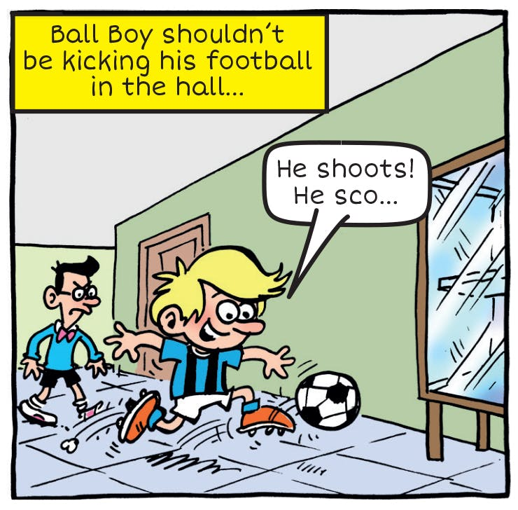 Darling Daisy Ball Boy football