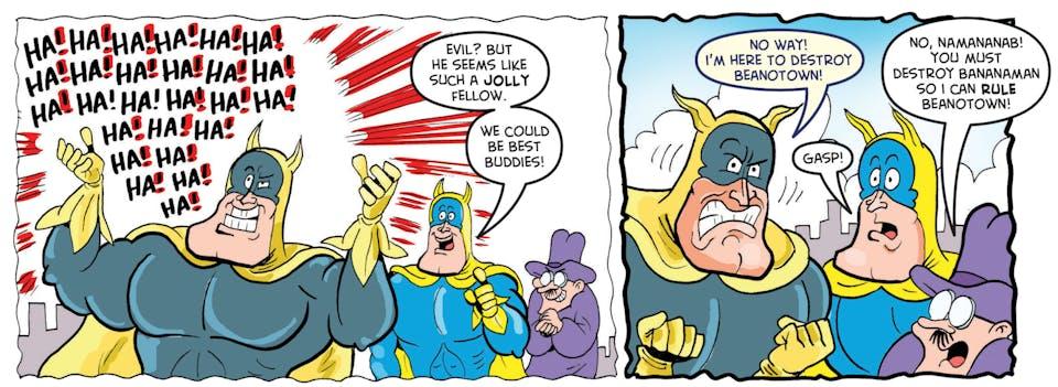 Bananaman versus Namananab