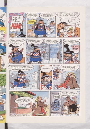 The 1 and Only Hank - Beano Book 2002