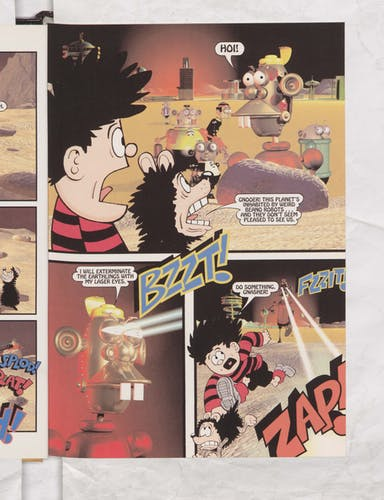 Dennis the Menace in Robot Rumble - Page 4
