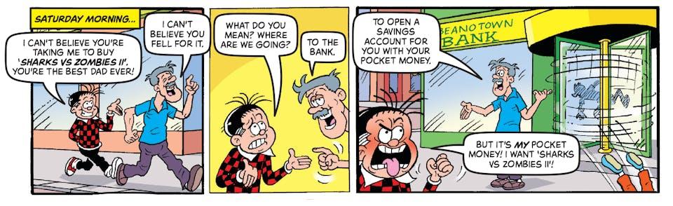 Beano 3998 - Roger the Dodger