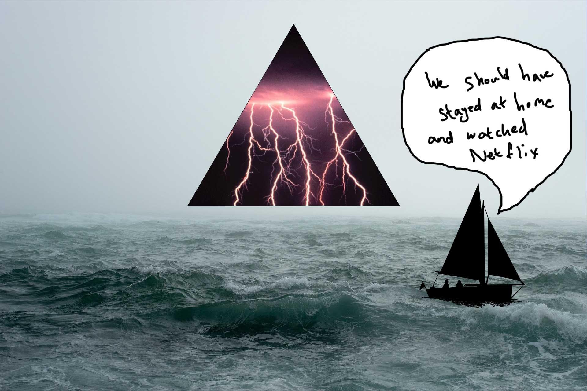 Bermuda triangle - awful storms