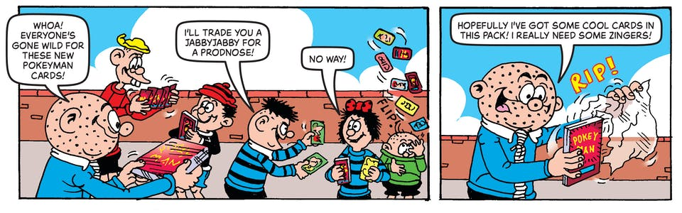 Inside Beano 4033 - The Bash Street Kids