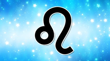 A zodiac symbol