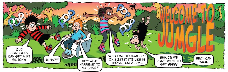 Inside Beano 4013 - Dennis and Gnasher