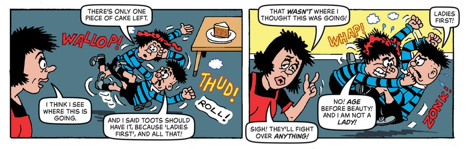Inside Beano no. 4046 - The Bash Street Kids