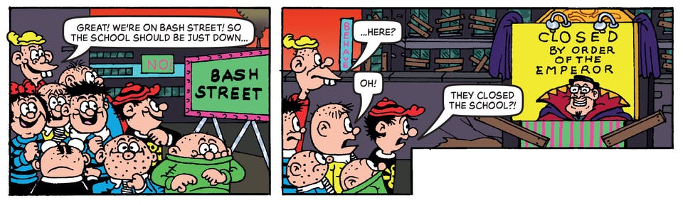 Beano no. 4000 - Bash Street Kids