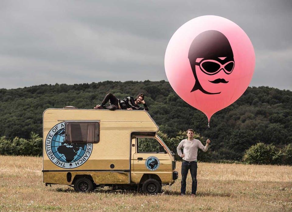 The Adventurists' Balloon Journey