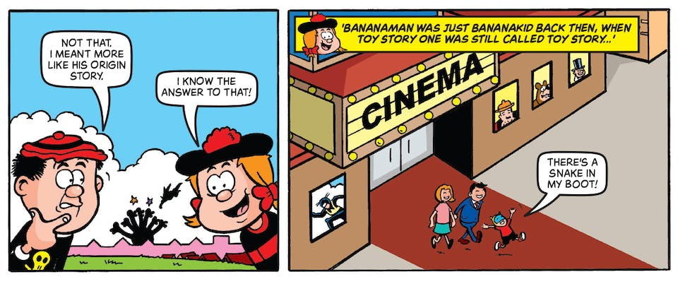 Beano no. 4002 - Bananaman