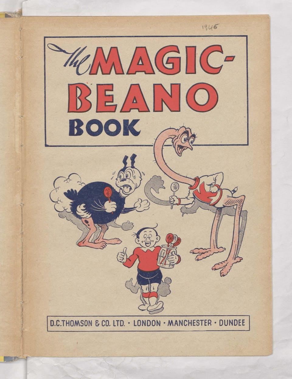 Beano Book 1945 Annuals - Koko, Eggo, and the Magic Lollies