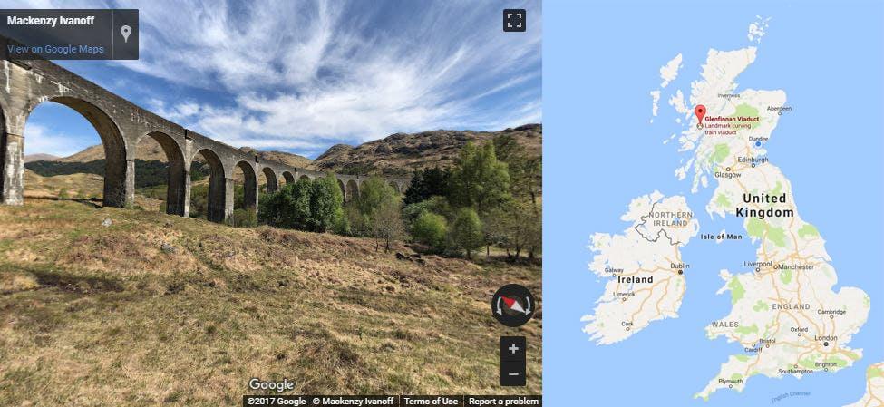 Glennfinnan Viaduct, Scotland