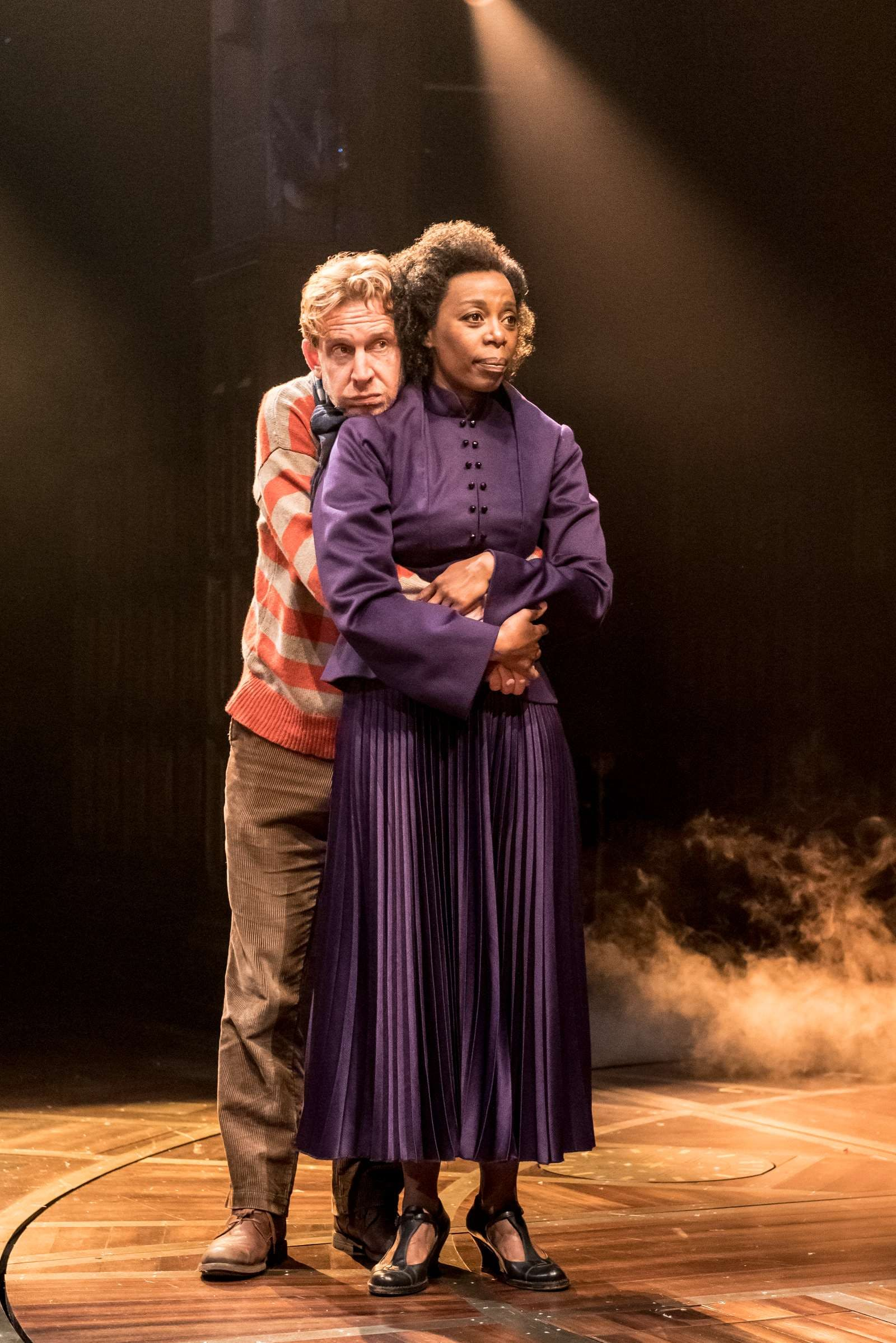 Ron and Hermione in Harry Potter and the Cursed Child