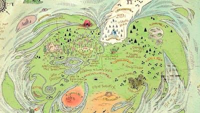 Map Of Ooo Adventure Time Cartoons On Beano Com