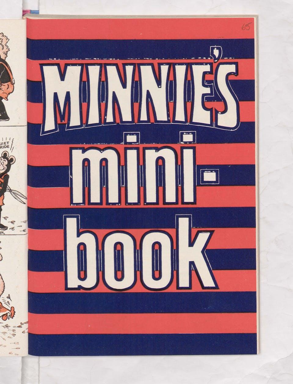 Minnie's Mini Beano Book 1971