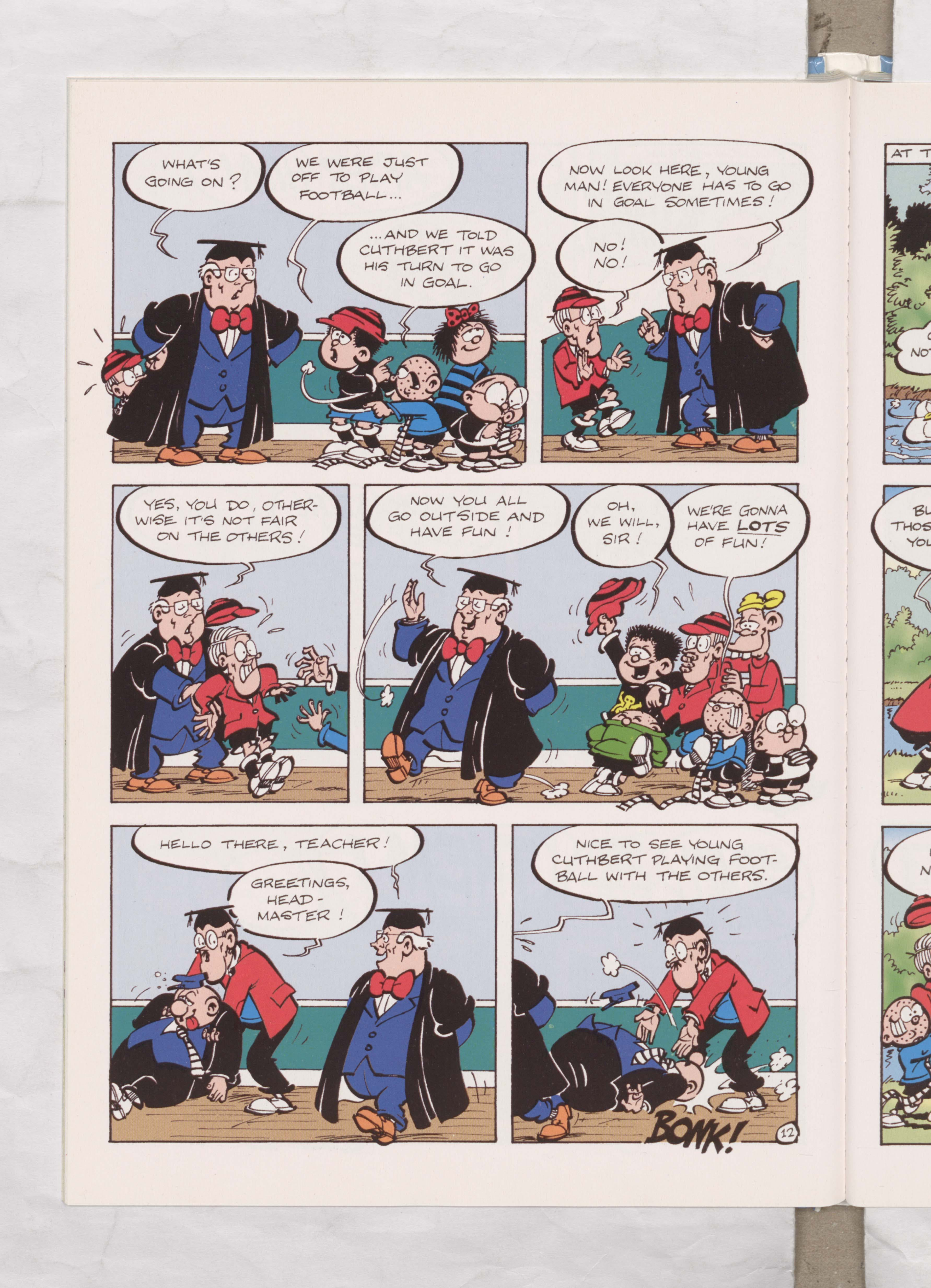 Bash Street Kids - Teachers Pest - Illustrated by Mike Pearse Beano Book 2004 Annual