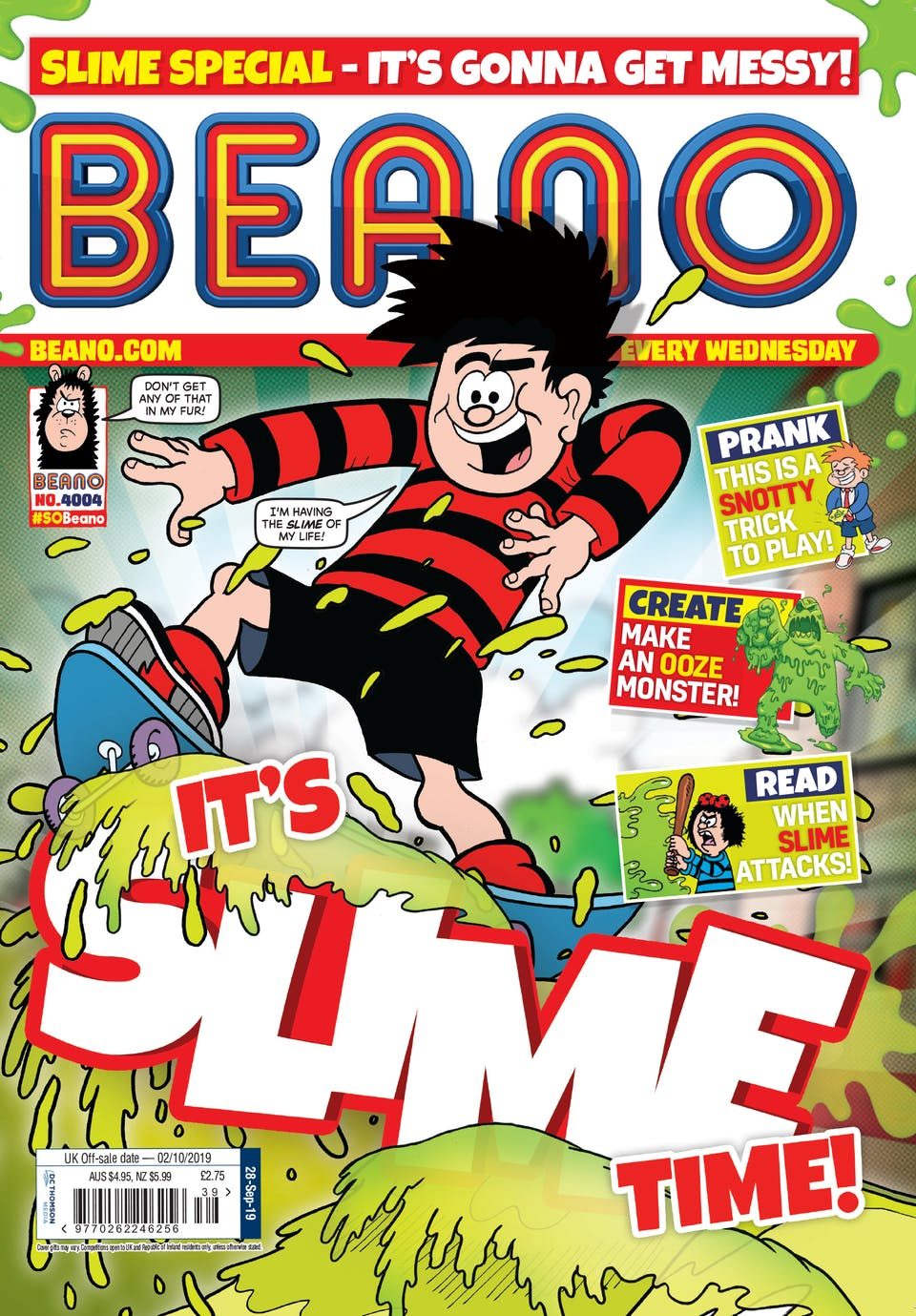 Inside Beano 4004 - It's Slime Time!