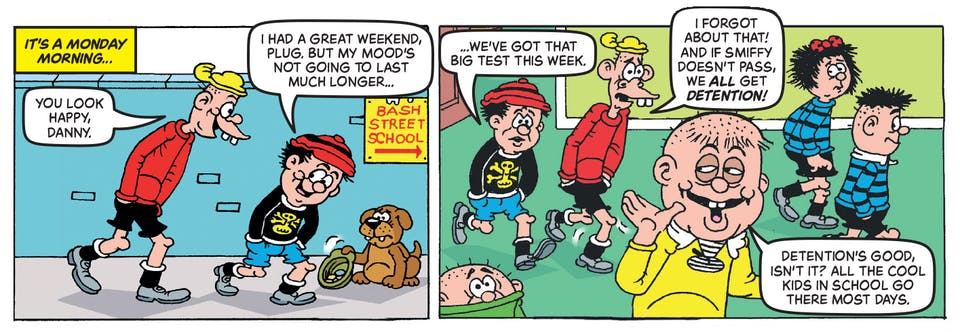 Inside Beano 4020 - Bash Street Kids