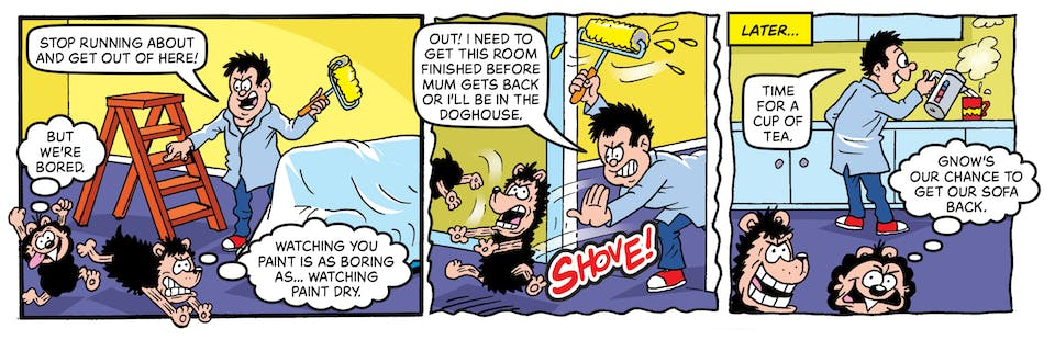 Inside Beano no. 4051 - Gnasher & Gnipper