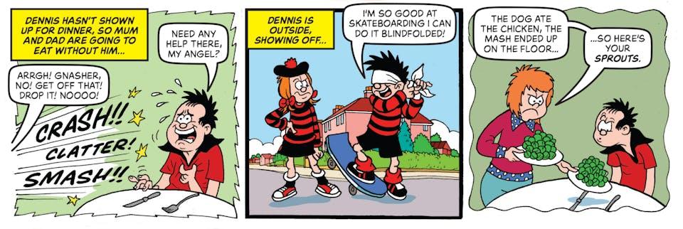 Inside Beano 4031 - Dennis & Gnasher