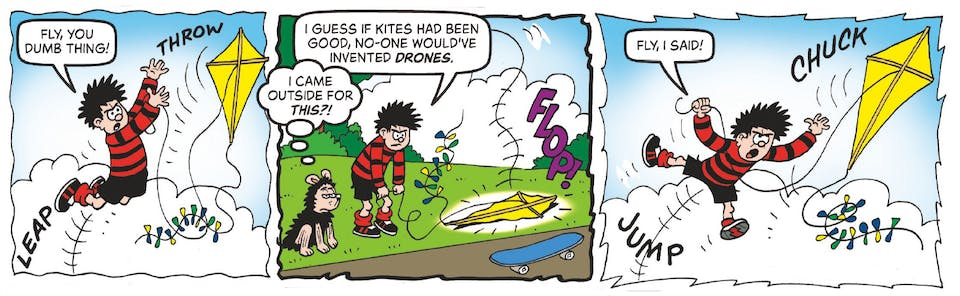 Inside Beano no. 3991 - Dennis and Gnasher