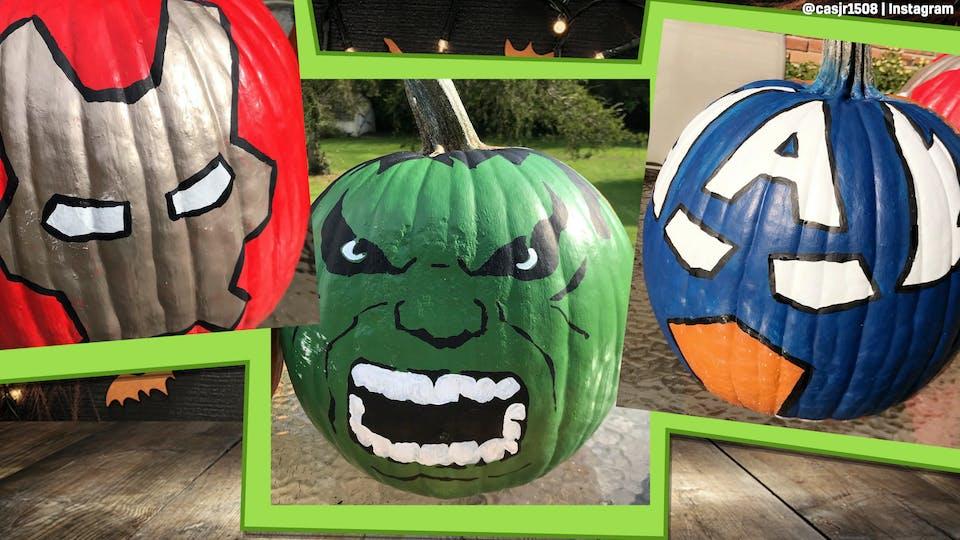 Halloween Pumpkin Painting Ideas Awesome Pumkin Painting On Beano Com