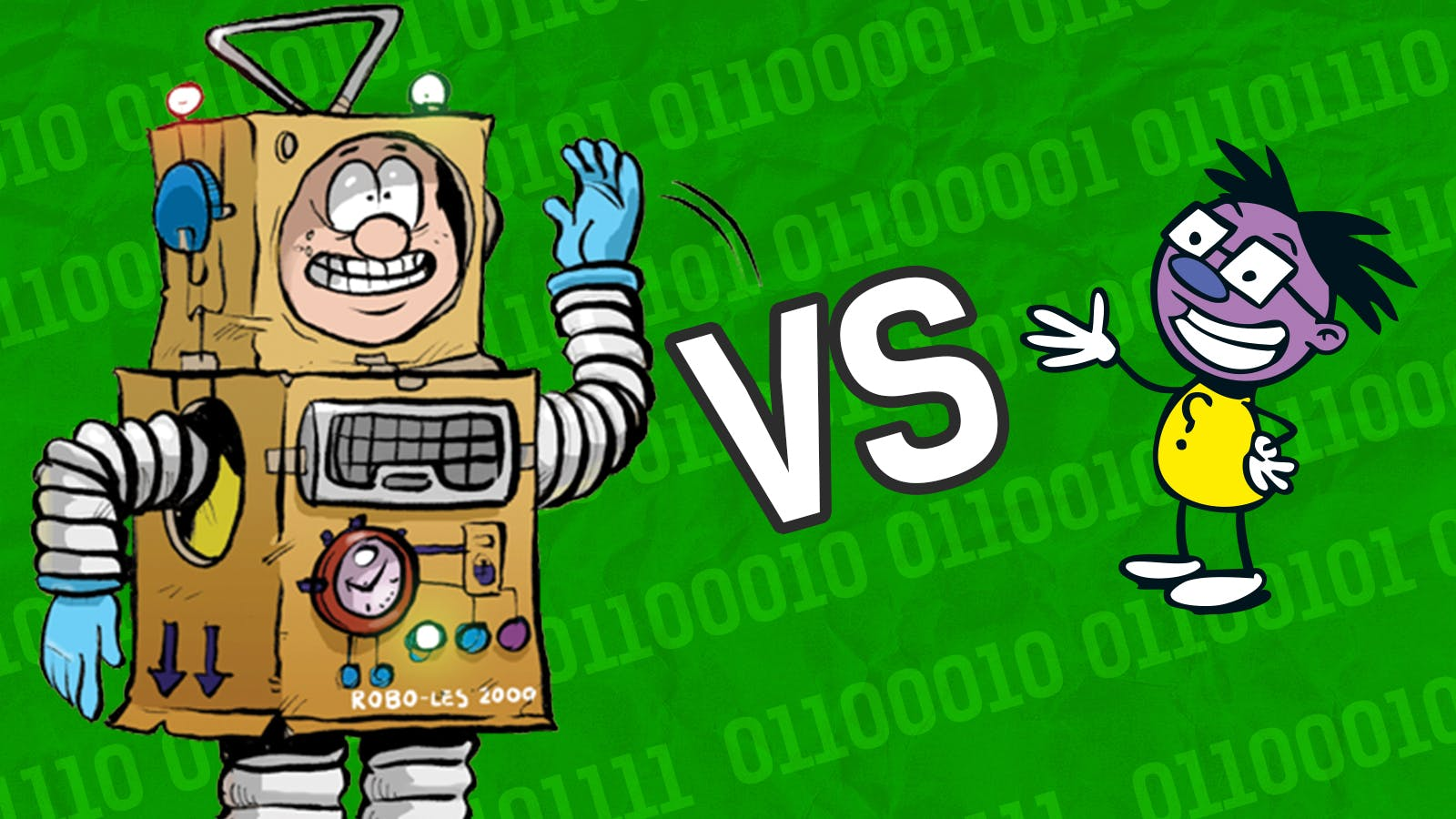 Ones or Zeroes - Les Pretend vs The Numskulls