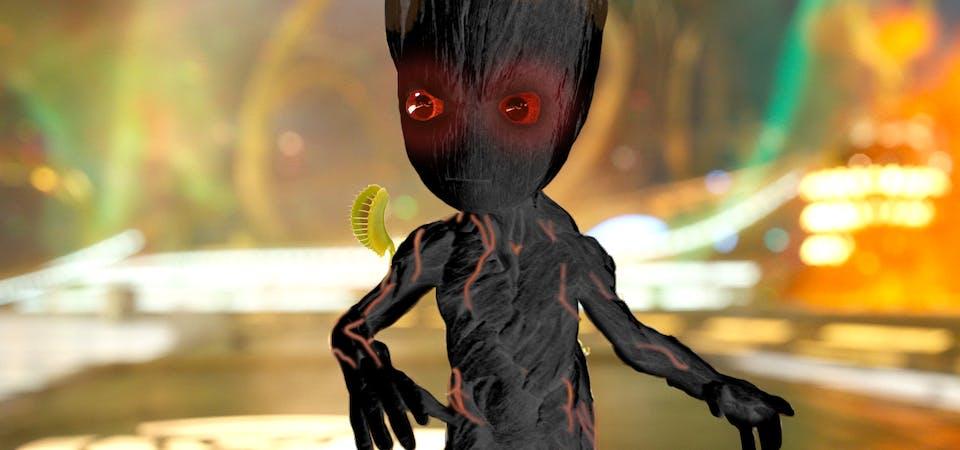 Evil Baby Groot