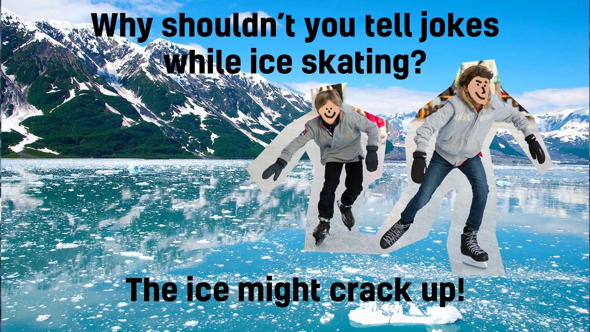 Ice skating joke