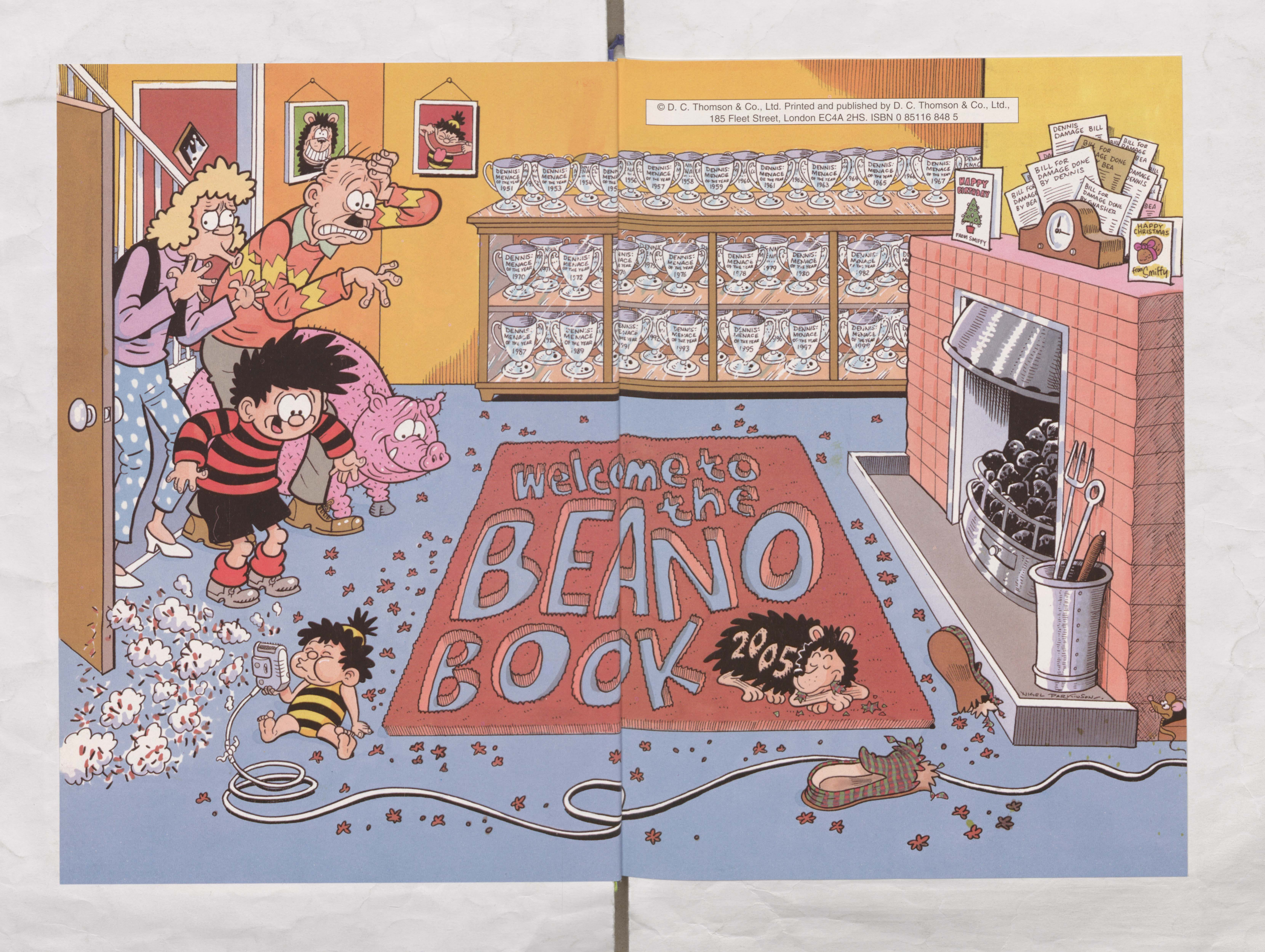 Welcome to the Menace House! - Beano Book 2005 Annual