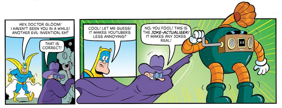 Inside Beano no. 4055 - Bananaman