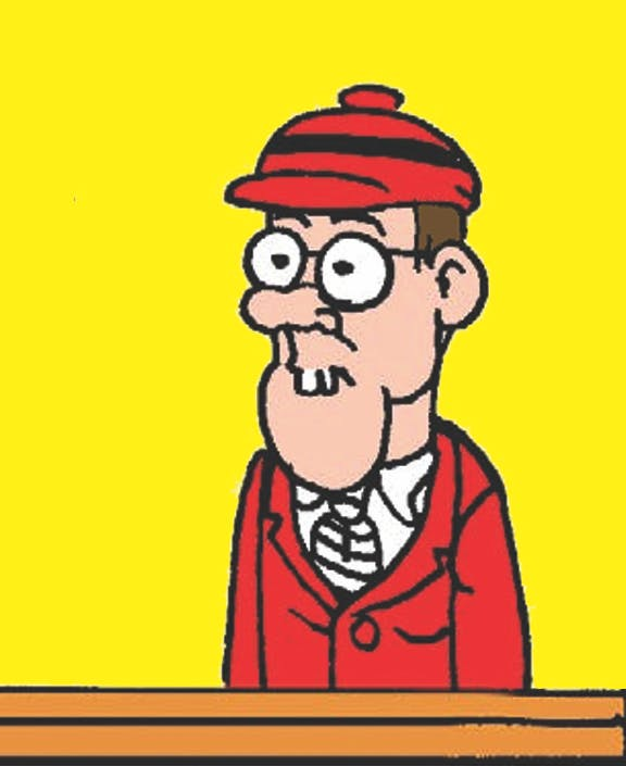 Cuthbert from The Bash Street Kids