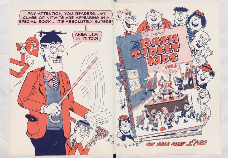 Bash Street Kids Annual - Beano Book 1980