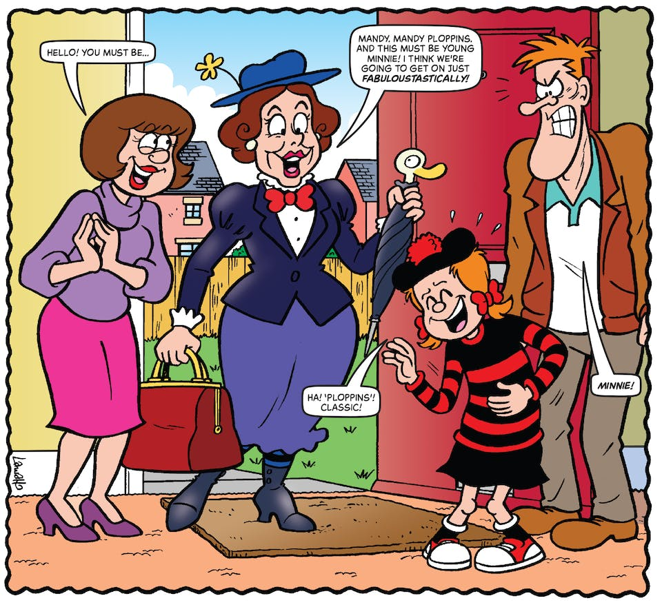 Inside Beano 4011 - Minnie the Minx