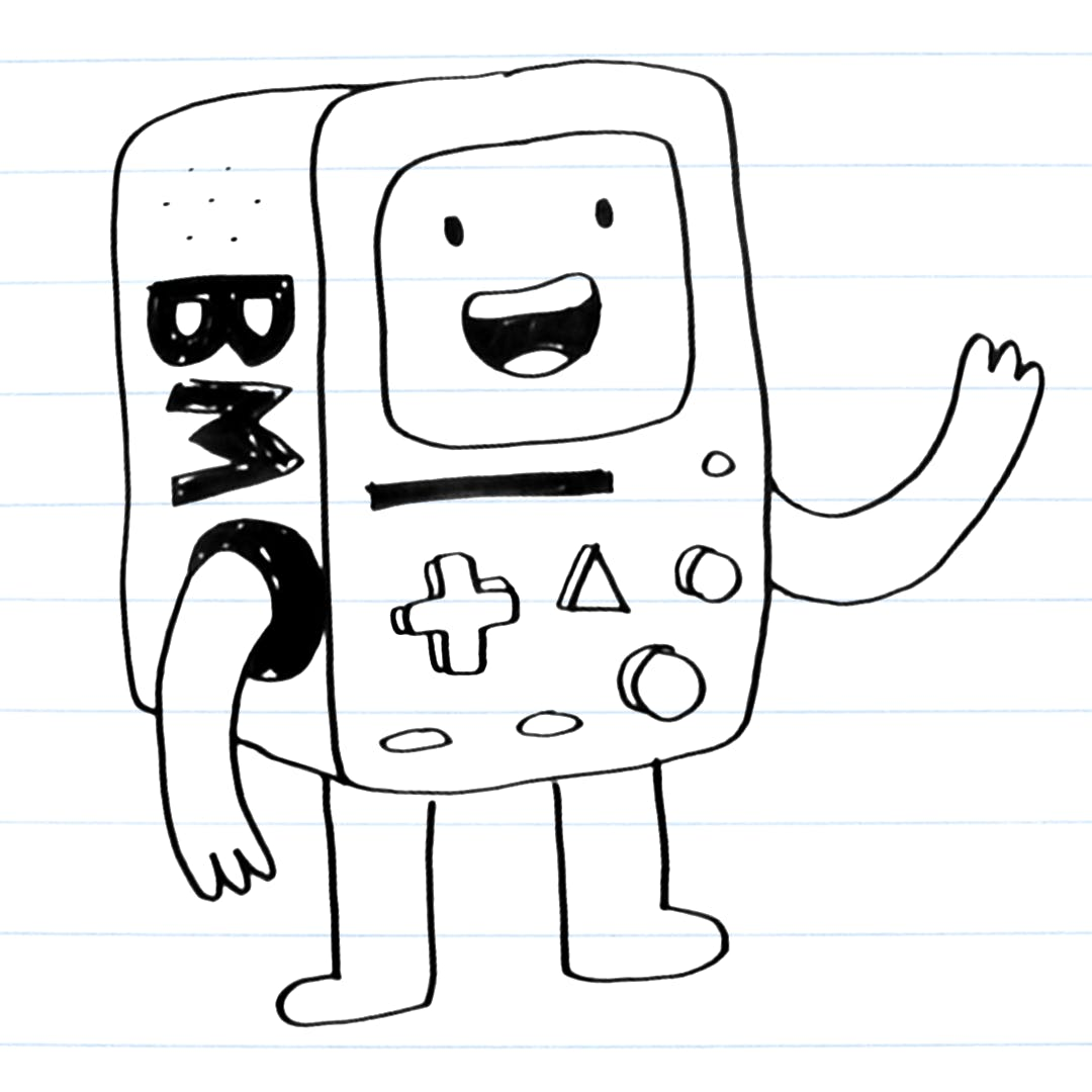 Drawing of BMO