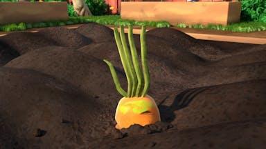 Kicking the living veg!